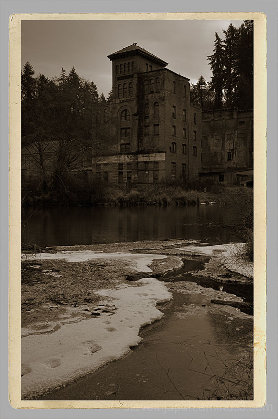 The old Olympia Brewery in Tumwater, WA.