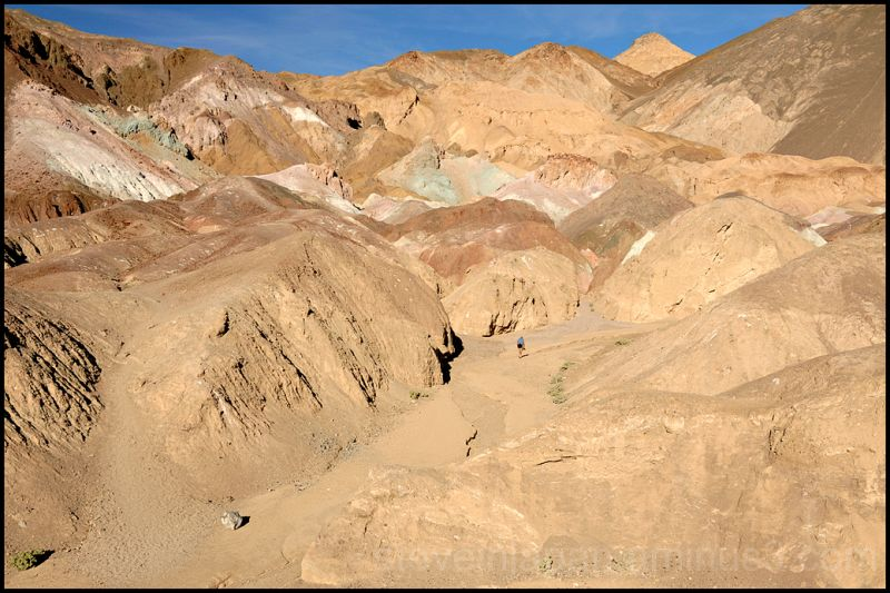 Artist's Palette in Death Valley.