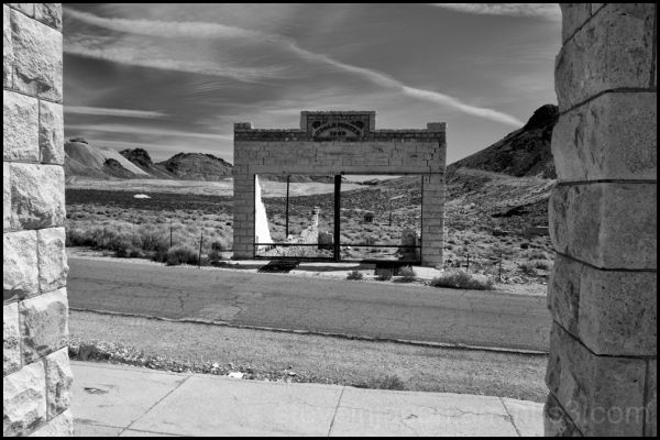 The Porter Brothers Store in Rhyolite, Nevada.