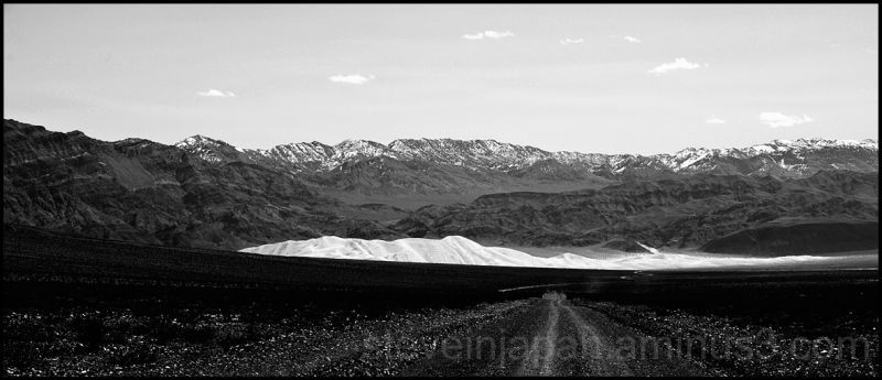 The Eureka Sand Dunes in Death Valley.