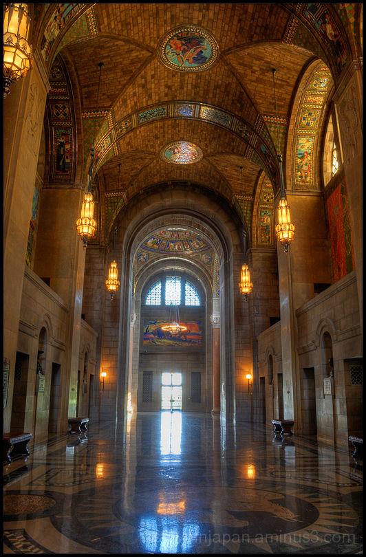 The Nebraska State Capitol in Lincoln.