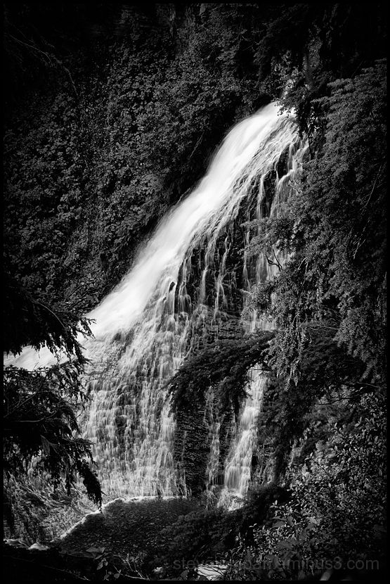 Clear Creek Falls on the east side of White Pass.
