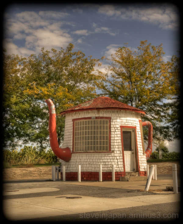The Teapot Dome gas station in Zillah, WA.