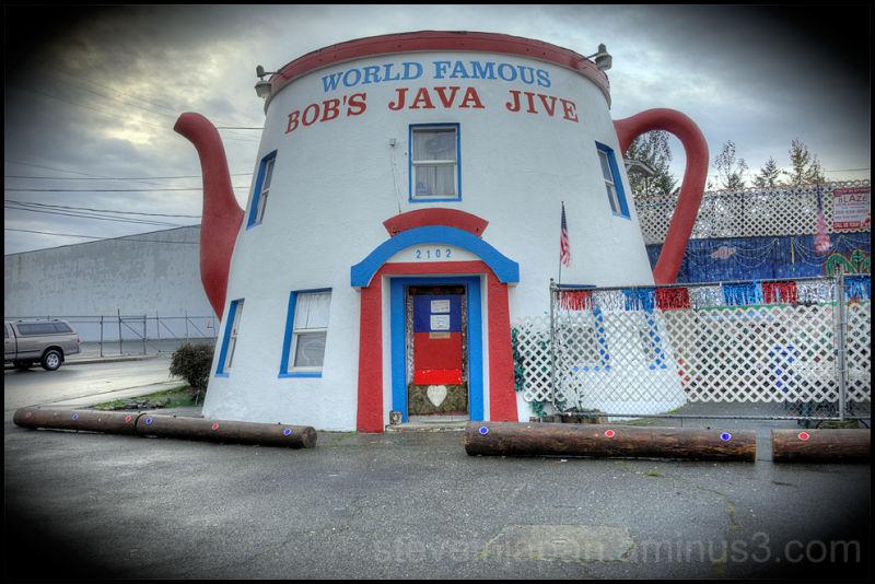 Bob's Java Jive in Tacoma, WA.