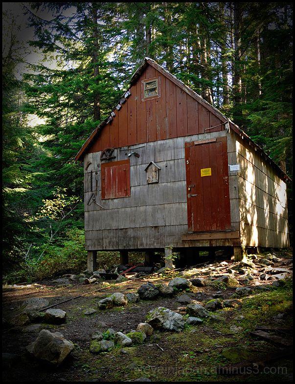 A Forest Service cabin in Monte Cristo.