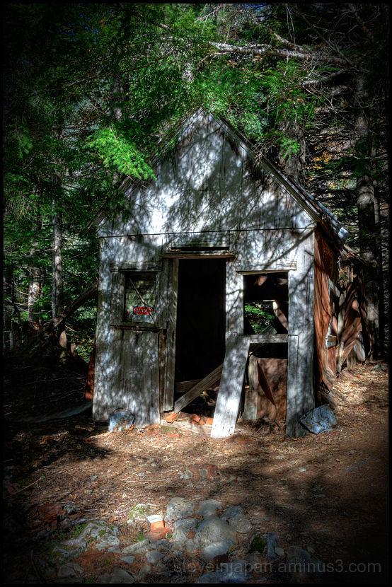 The Peabody cabin in Monte Cristo.