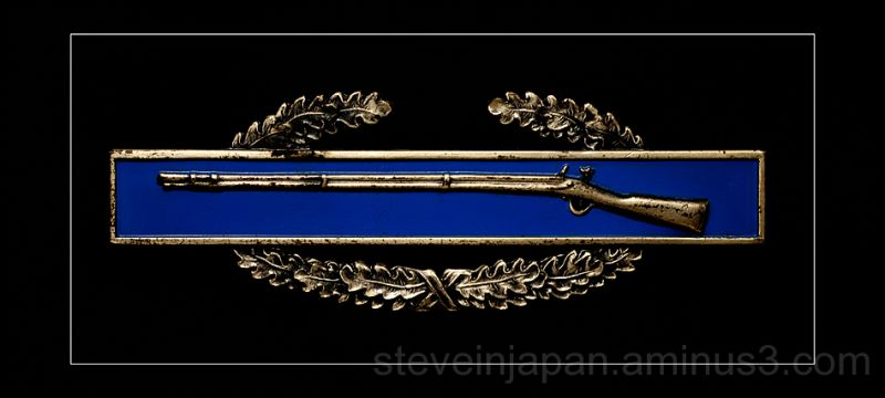 The Combat Infantryman Badge.