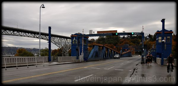 The Fremont Bridge in seattle, WA.