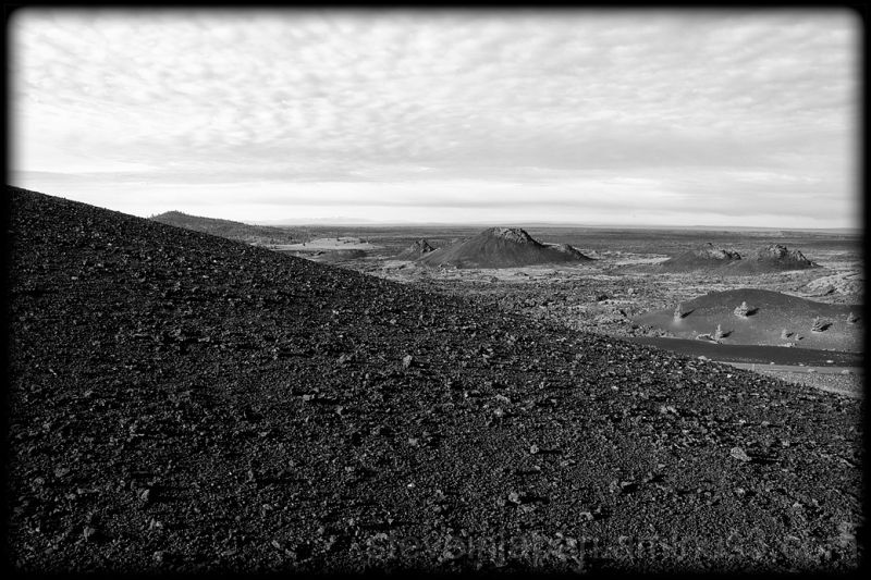 Spatter cones at Craters of the Moon NM.