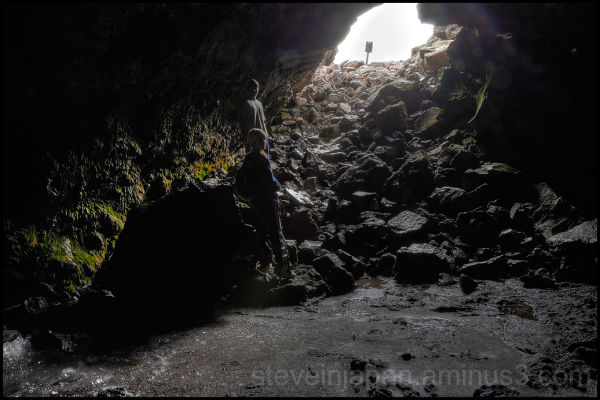 Beauty Cave at Craters of the Moon NM.