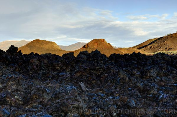 Sunrise at the Spatter Cones.