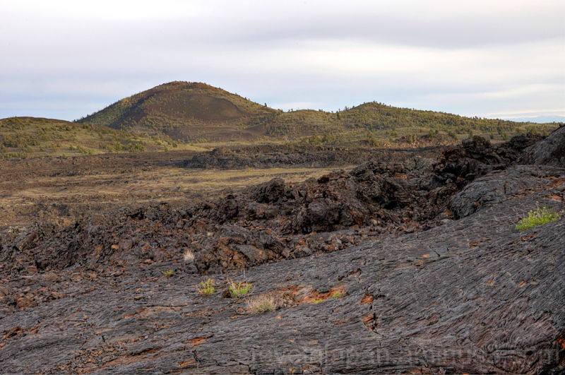 Lava at Big Cinder Butte at Craters of the Moon.