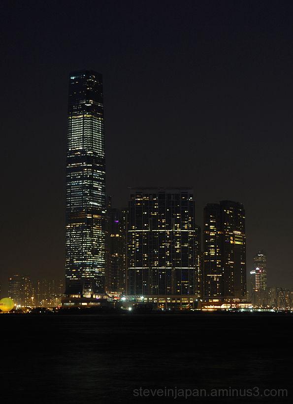 The International Commerce Center in Hong Kong.