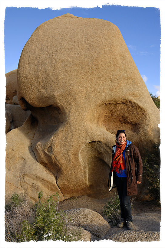 Skull Rock in Joshua Tree NP.