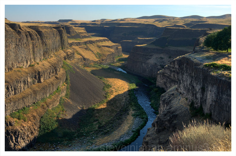 The Palouse River just below Palouse Falls.