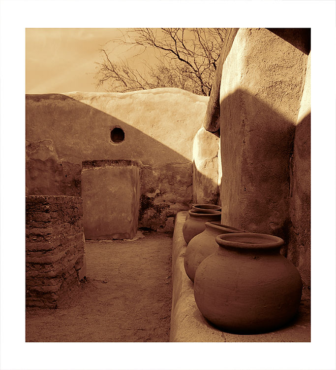 Mission San José de Tumacácori in Arizona, USA.