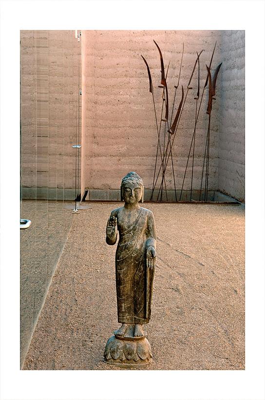 A sculpture near the Presidio in Tucson, AZ.