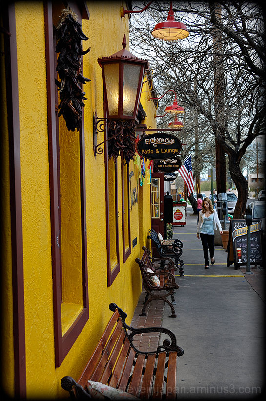 El Charro Cafe near the Presidio in Tucson, AZ.