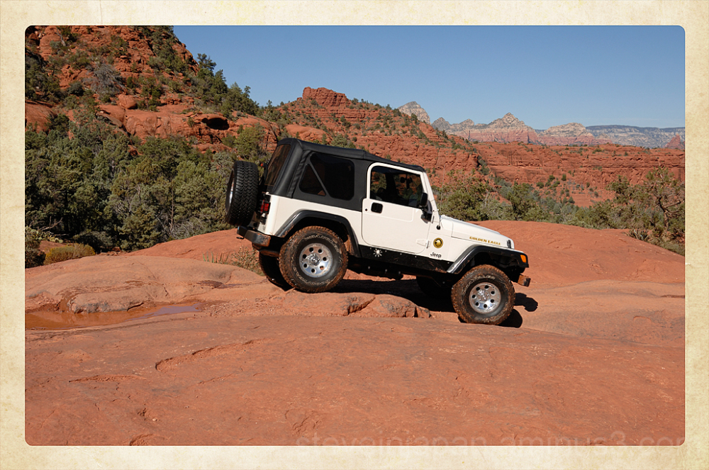 A Jeep on the Broken Arrow Trail.
