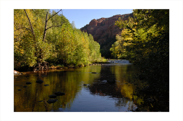 Oak Creek in Sedona, AZ.