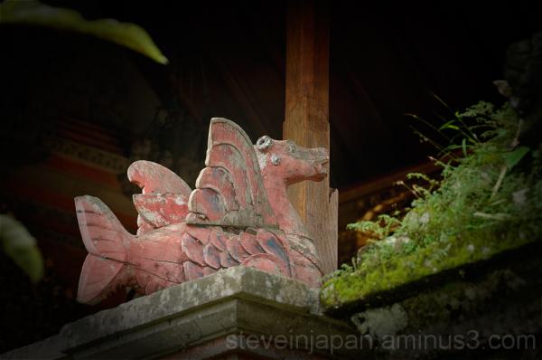 The royal palace in Ubud, Bali.