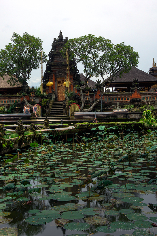 The Ubud Water Palace in Ubud, Bali.
