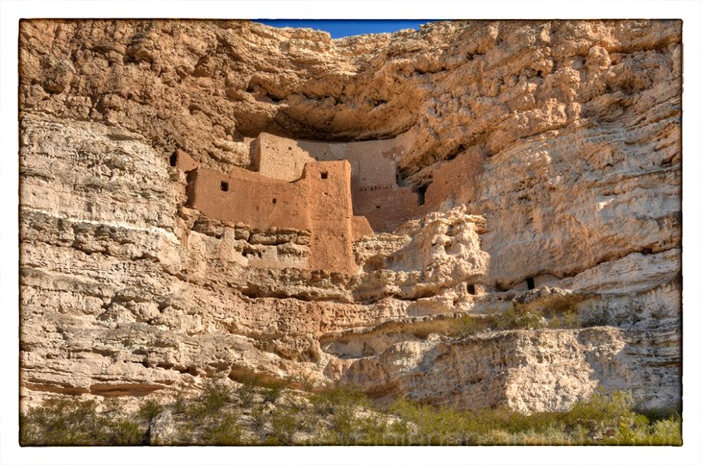 Montezuma Castle near Flagstaff, AZ.