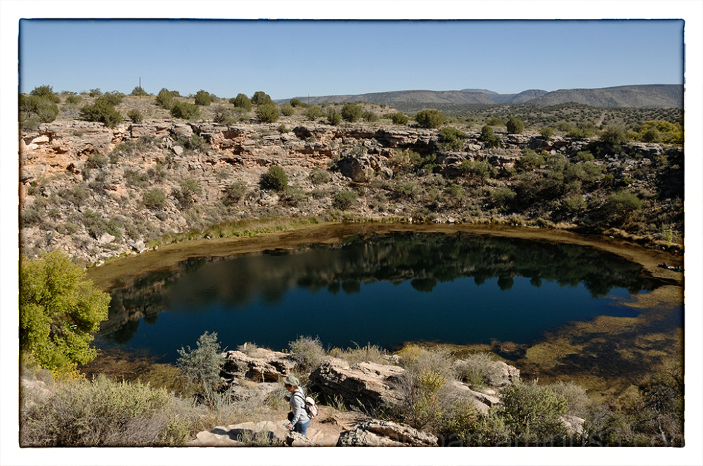 Montezuma Well near Flagstaff, AZ.