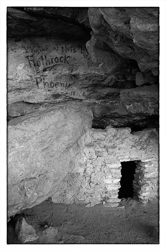Montezuma Well near Flagstaff, AZ.