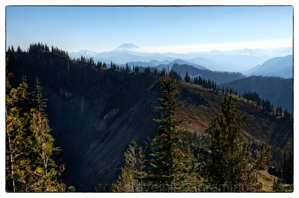 Mount Adams from Crystal Peak.