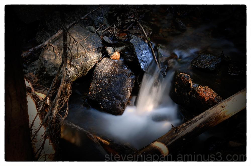 Crystal Creek on the Crystal Peak trail.