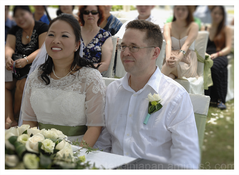 Daniel and Crystal wed in Singapore.