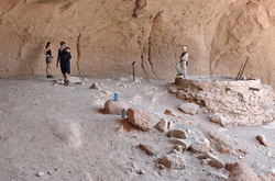 The alcove house at Bandelier National Monument.