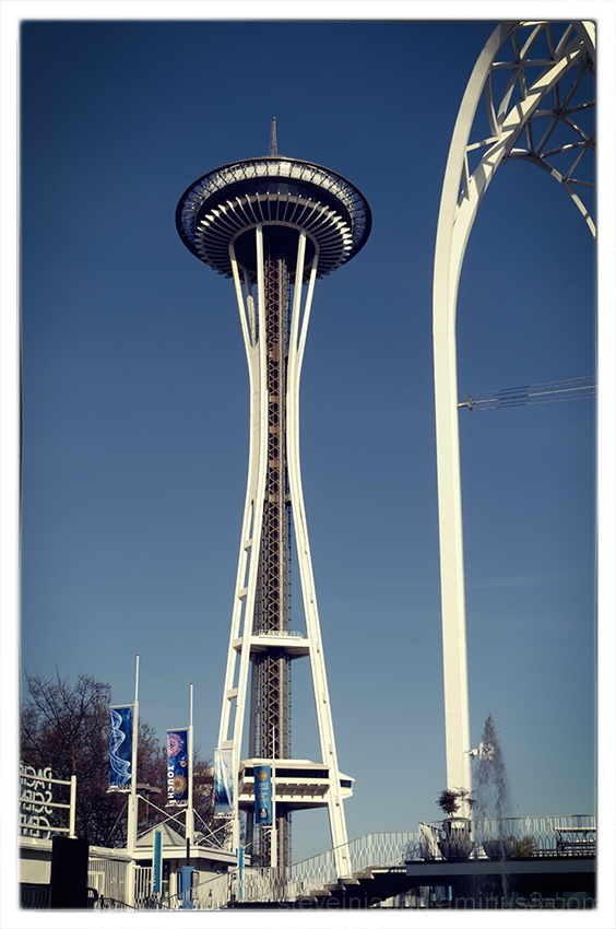 The Space Needle in Seattle.
