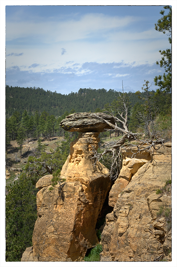 Balance Rock at Devils Tower NM.