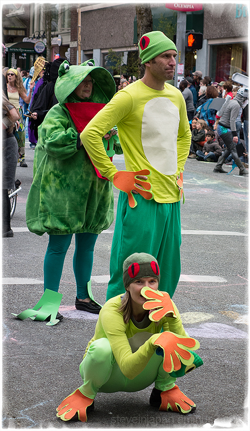 Frogs at the Procession of the Species.