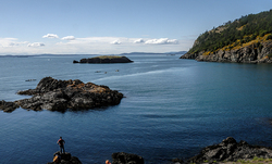 A view from Deception Pass State Park.