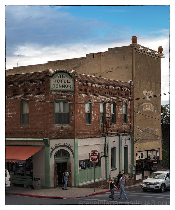 The Hotel Connor in Jerome, Arizona.