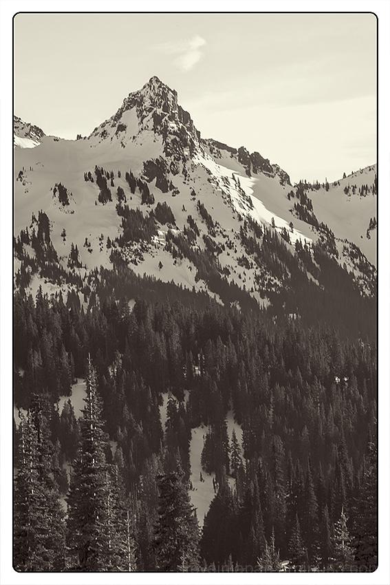 Pinnacle Peak at Mount Rainier.