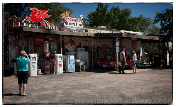 Hackberry, AZ on old Route 66.