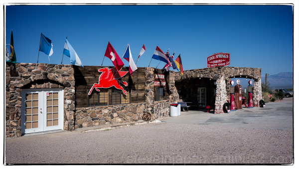 Cool Spring Camp on old Route 66.