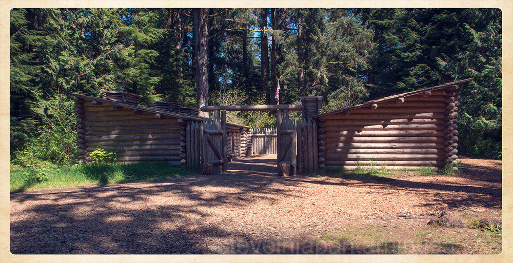 Fort Clatsop near Astoria, Oregon.