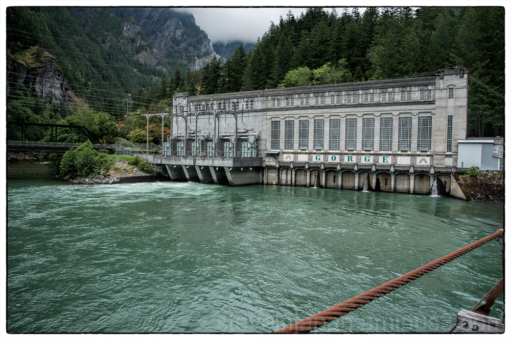 The Gorge Powerhouse in Newhalem, WA.