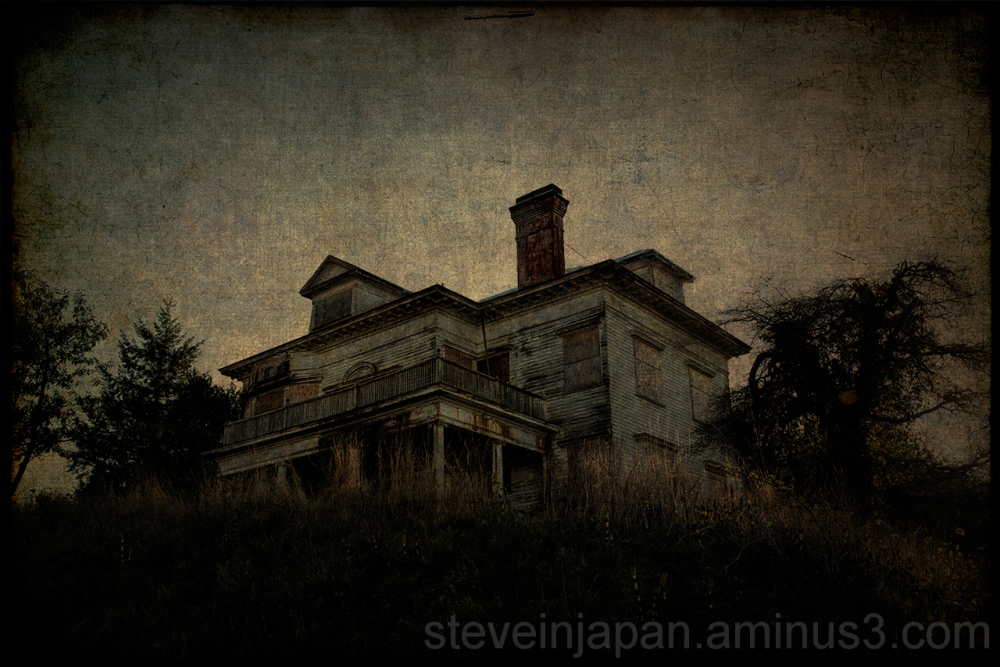 A haunted house in Astoria, OR.