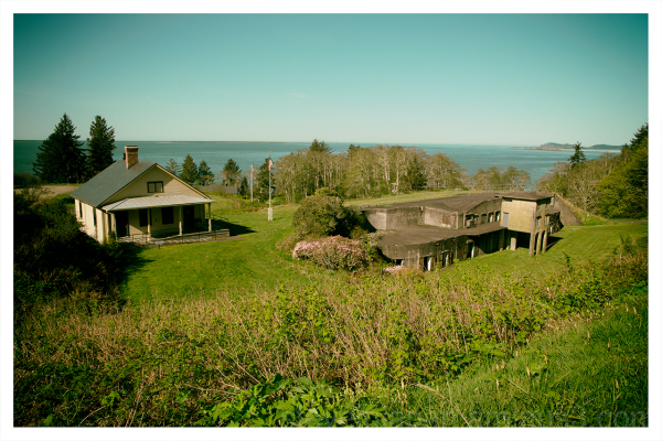 Fort Columbia in Washington State.
