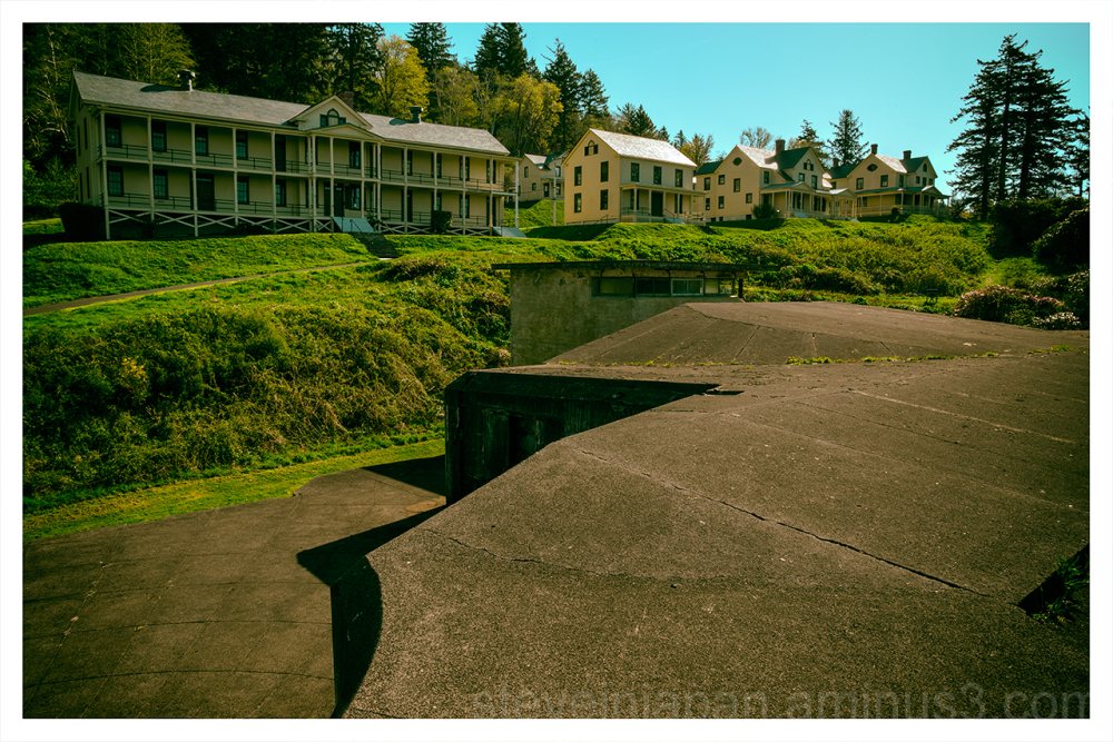 Fort Columbia in Washington State.
