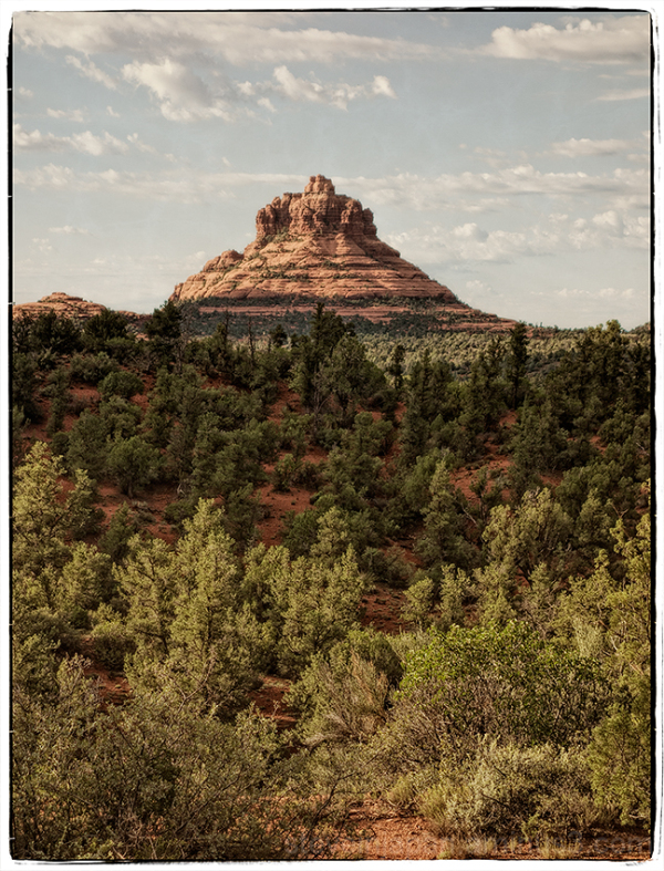 Bell Rock from the Little Horse Trail.