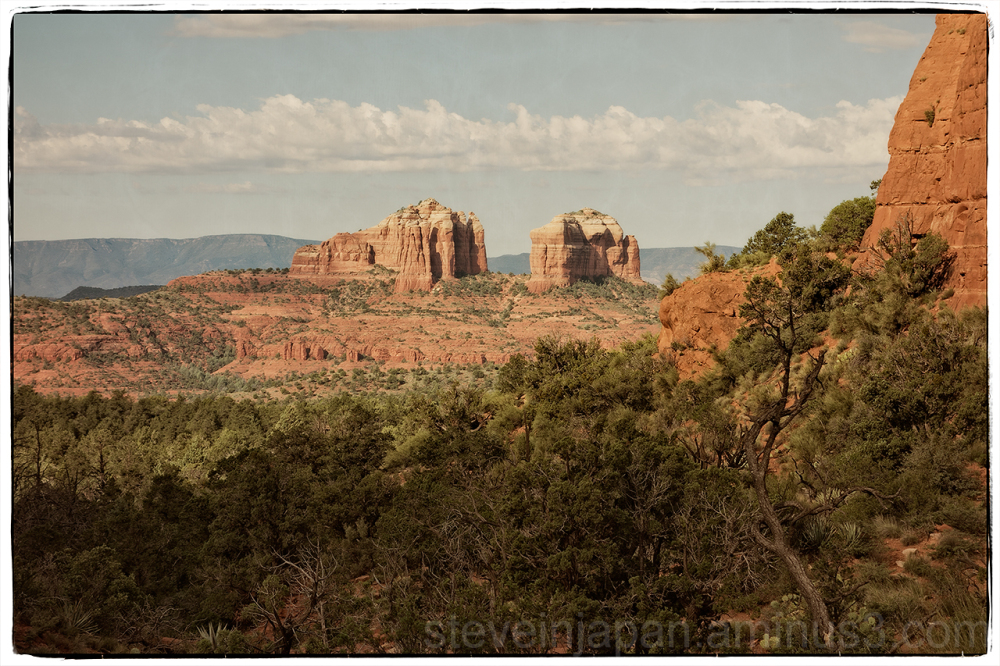 Cathedral Rock from the Little Horse Trail.