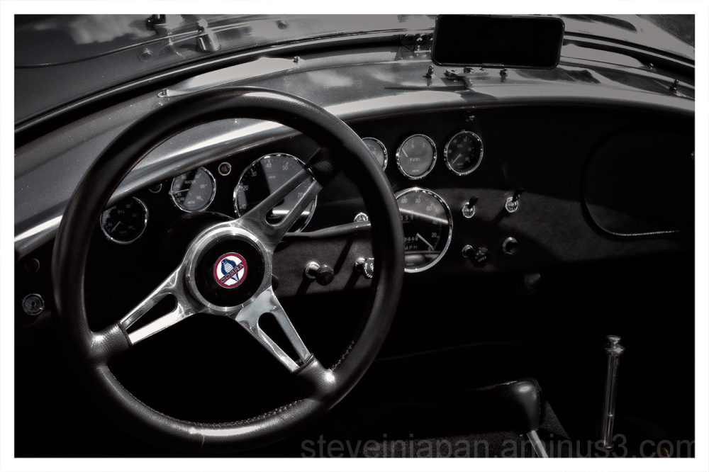 A Shelby Cobra 427.