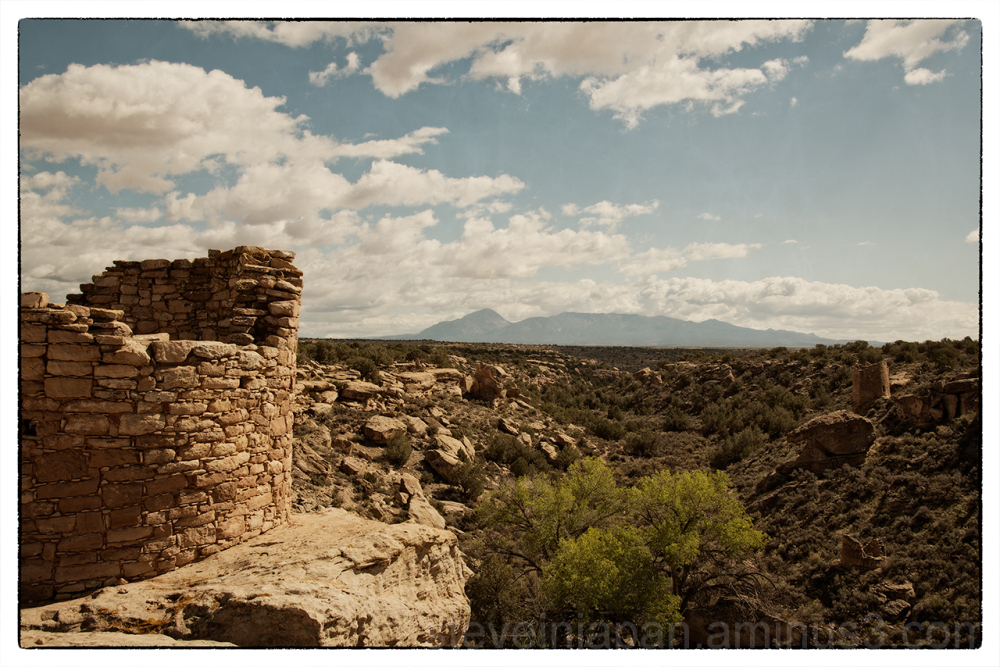 The view from Tower Point at Hovenweep NM.
